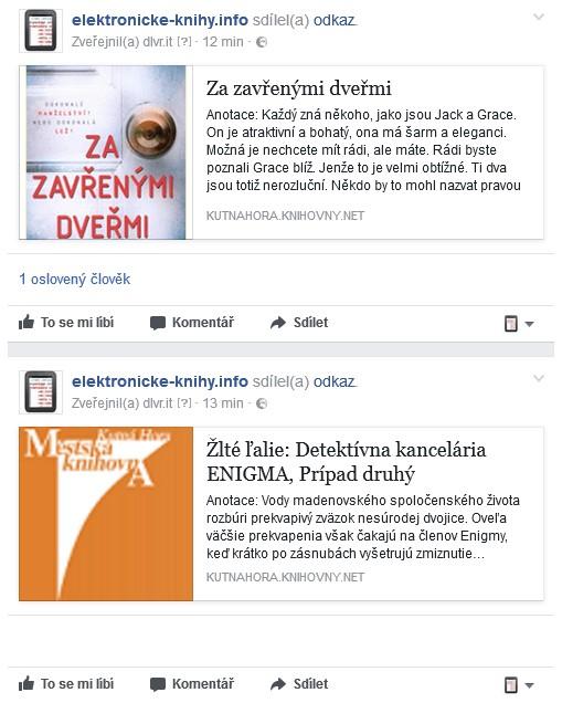Nové e-knihy v Městské knihovně Kutná Hora